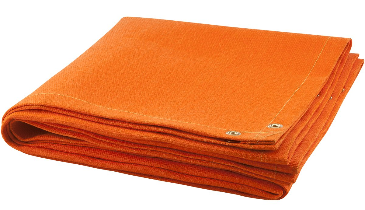 Steiner 369-6X8 Orange Glass 32-Ounce Fiberglass Welding Blanket, Orange 6' x 8'