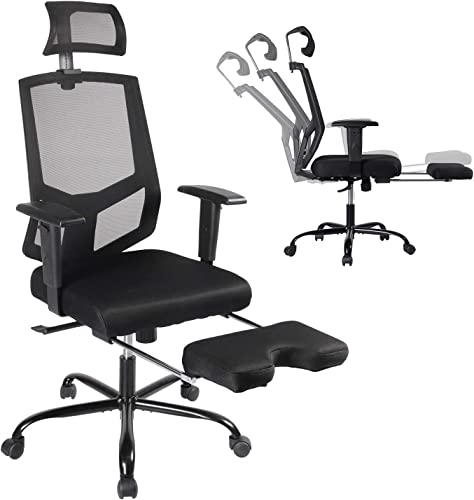 Office Chair Mesh Executive Chair Adjustable Armrest/Headrest Rotating Chair
