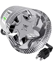 VIVOSUN Inline Duct Booster Fan, Extreme Low Noise & Extra Long 5.5' Grounded Power Cord