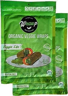 product image for Raw Organic Veggie Life Veggie Wraps | Wheat-Free, Gluten Free, Paleo Wraps, Non-GMO, Vegan Friendly Made in the USA (2 Pack)