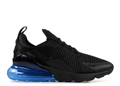 c5494fe1567429 RealMAX Unisex Air Max 270 Black Black Photo Blue Mens Womens Running Shoes