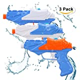 Kids Water Guns,Soni 3 pack Water Squirt Gun for Water Fight Great Summer Water Toys Outdoor for fun