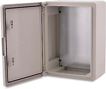 Caja de plástico ABS BOXEXPERT Caja de control de flota IP65 gris ...