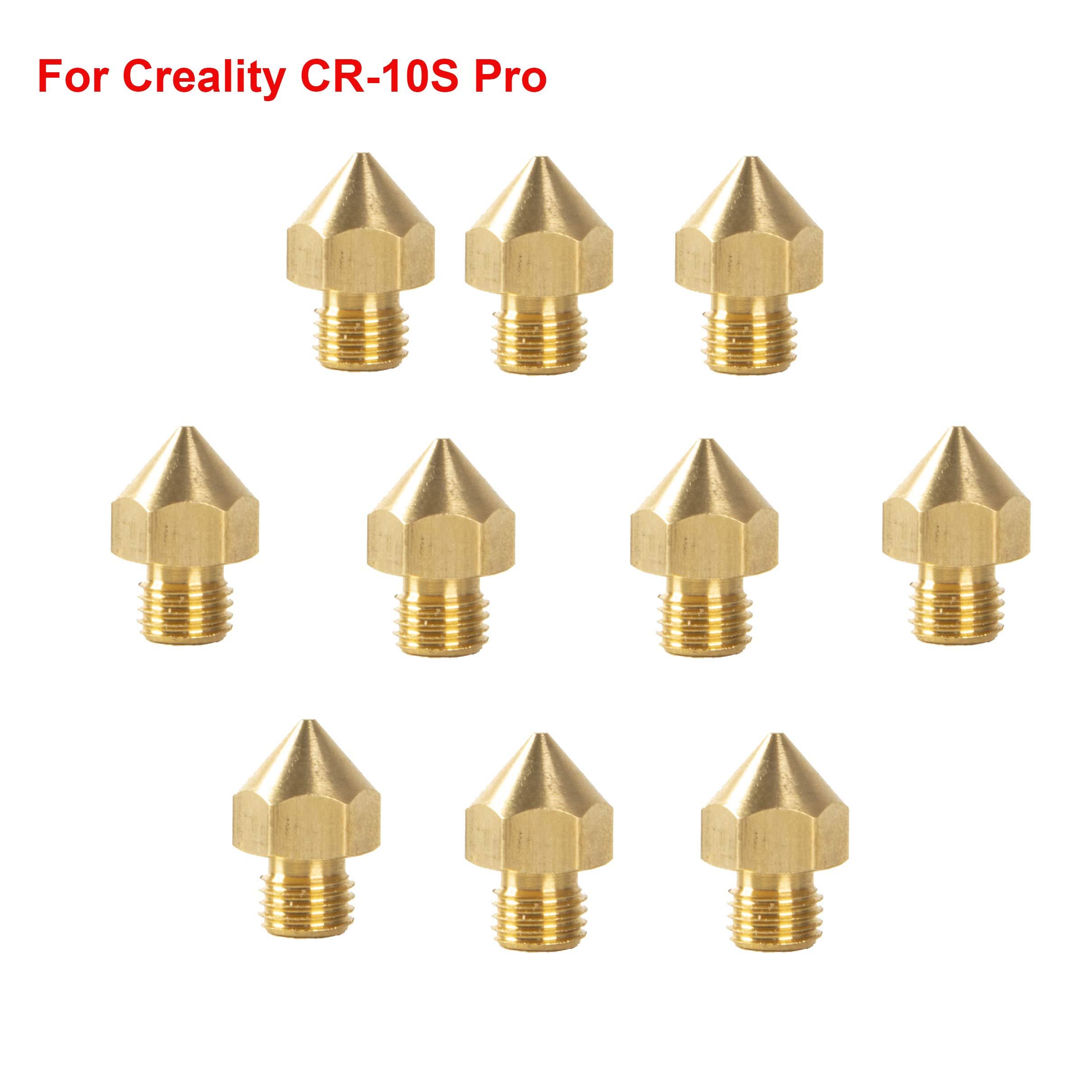 Cctree 10 Un. Printer 3d Cr 10s Pro 0.4mm Boquilla Extrusora