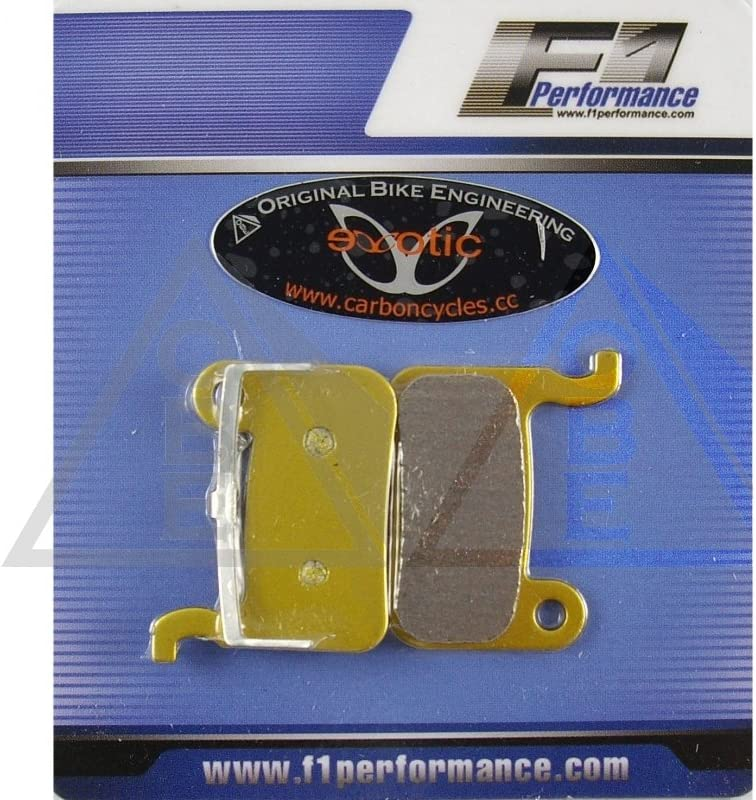 2 Pairs Organic Disc Brake Pads for Shimano XTR M965 975 Deore LX XT Hone Saint