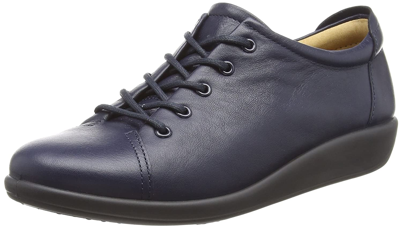 Hotter Dew, Zapatos de Cordones Oxford para Mujer 39.5 EU Azul (Navy 30)