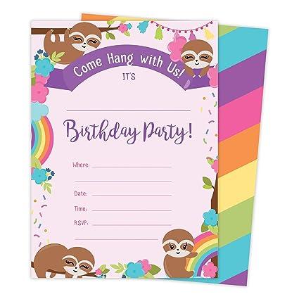 Amazon.com: Paquete de tarjetas de invitación de feliz ...