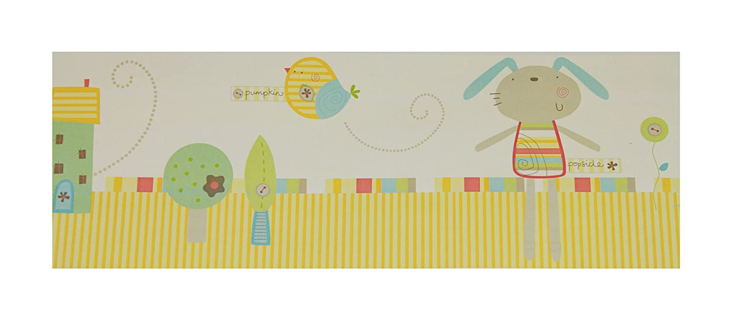 Lollipop Lane Pumpkin And Popsicle Wallpaper Border Lollipop Lane Ltd PP-WB