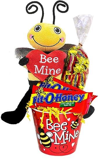 Bee My Bit o Miel felpa Bee regalo de San Valentín: Amazon ...