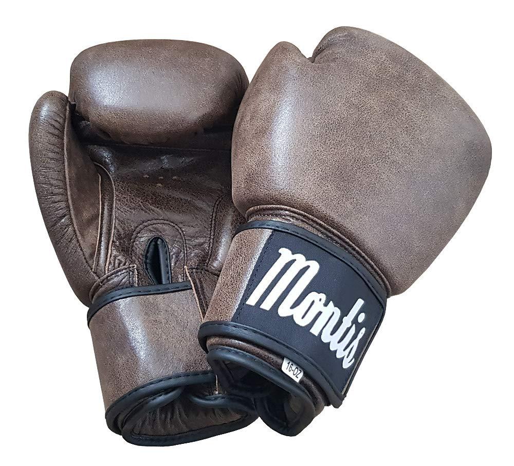 Retro Reborn vintage Tan Brown leather boxing gloves