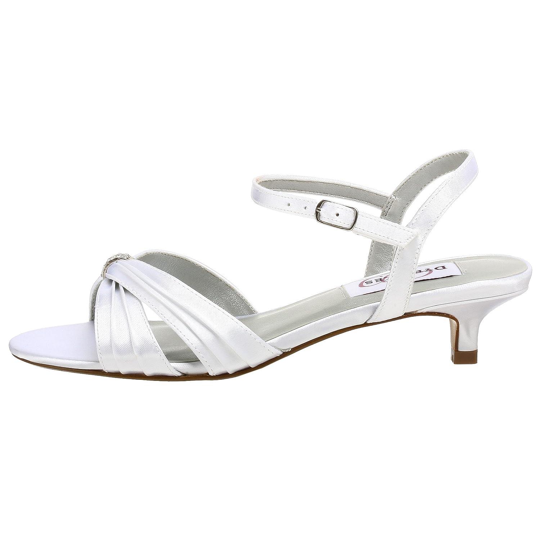 Dyeables Women's Fiesta Sandal B0015YN7BE 9 2A|White