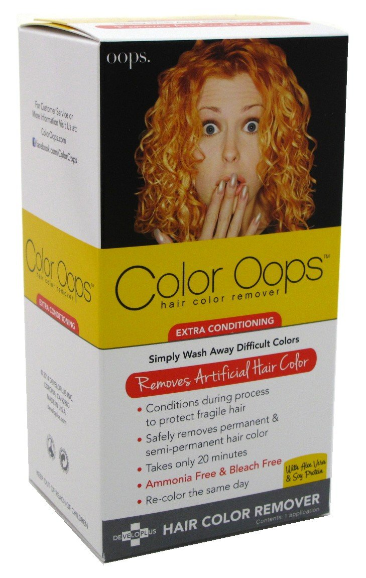 Amazon Color Oops Hair Color Remover Extra Conditioning 1 Each