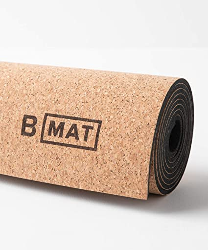 yoga natural cork mat