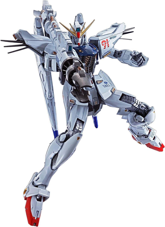 "Bandai Tamashii Nations Metal Build Gundam F91 ""Mobile Suit Action Figure"