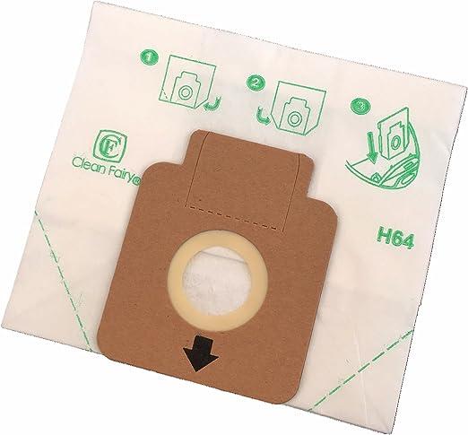 Clean Fairy - Bolsas de papel para aspiradoras tipo Hoover H58 ...