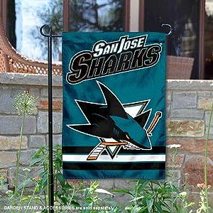 Wincraft San Jose Sharks Double Sided Garden Flag