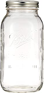 product image for Ball Wide Mouth Half Gallon 64 Oz Jars with Lids and Bands, Set of 6