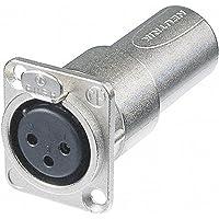 Neutrik NA3FDM Adaptador de Cable XLR Plata