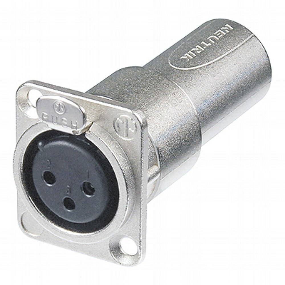 Neutrik NA3FDM XLR D Series 3-Pin Female to Male Adapter