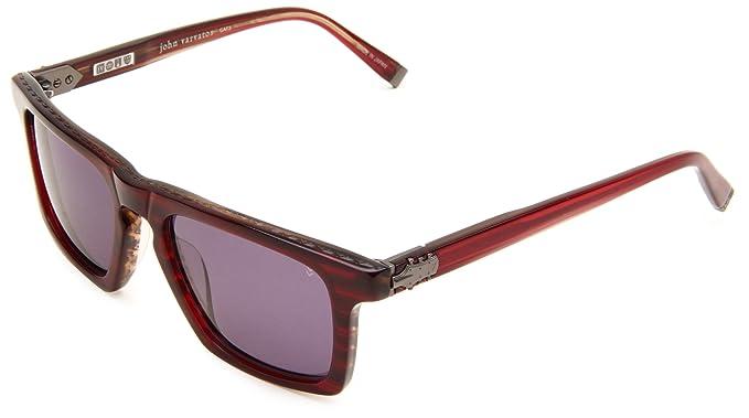 Amazon.com: John Varvatos V779 V779CHI53145 Square Sunglasses ...
