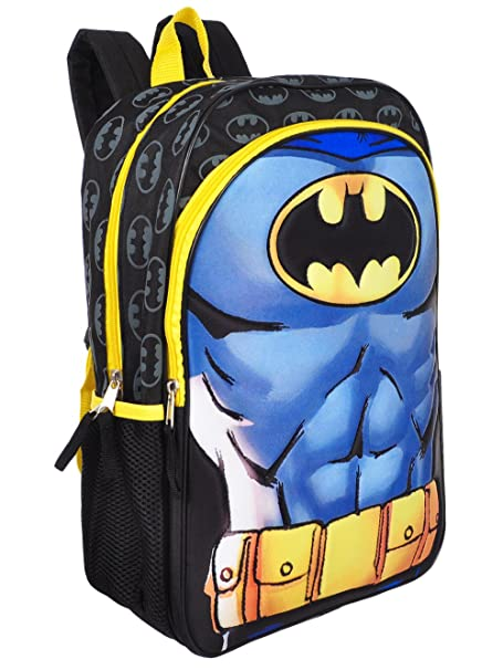 Accessory Innovations Mochila Batman - Azul/Negro Multi, Talla Única: Amazon.es: Ropa y accesorios