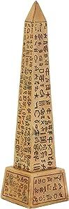 Brown Egyptian Obelisk Collectible Figurine