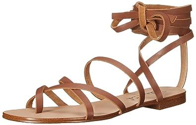 Splendid Women's SPL-Carly Toe Ring Sandal, Cognac, ...