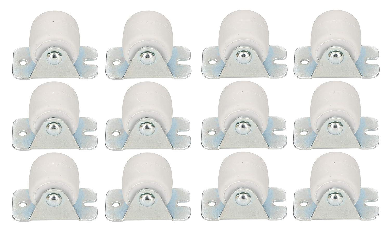 Stahlrahmen M/öbelrollen Alle B/öden Lenkrollen Kisten Fix Schieberollen Werkzeugrollen Bockrollen 33 mm Gummi Univer KOTARBAU Transportrollen 22 mm 1, 22 mm