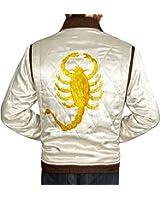 TAF Men's Drive Jacket with Golden Scorpion - Ryan Gosling Famous Scorpion Jacket