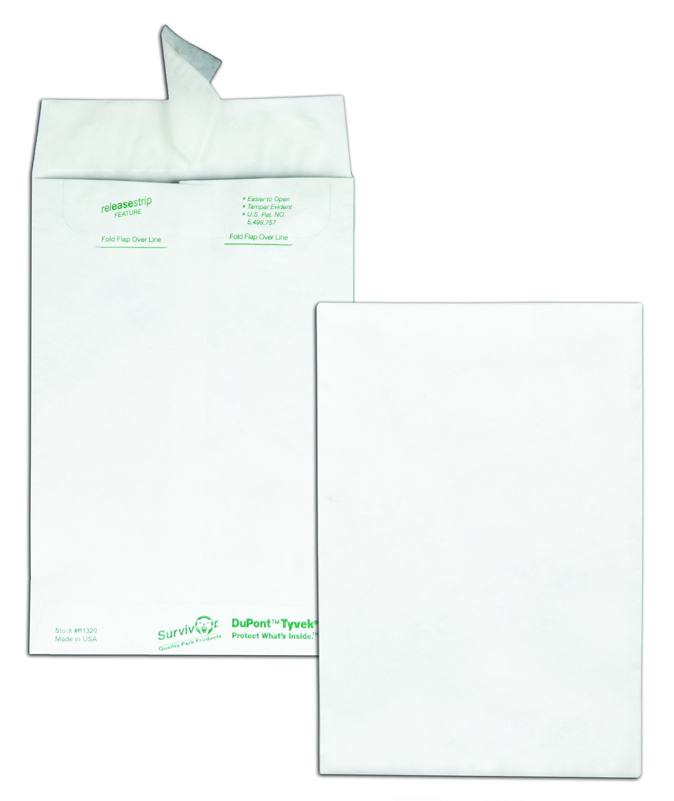 Quality Park tyvek Catalog Envelope, 6 inches x 9 inches, White 100 Envelopes (R1320) by Quality Park