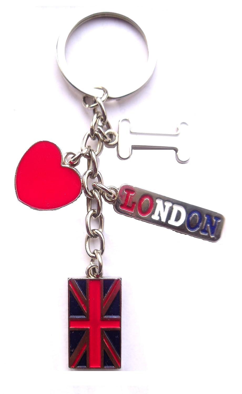 Ich liebe London llavero: Yo, Amor, Corazón, London & unión ...
