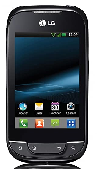 Amazon com: LG Optimus Net P690B Unlocked GSM Phone with Android 2 3