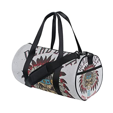 Amazon.com: Native American Indian Art Prints bolsa de ...