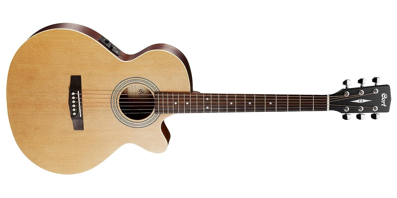 Cort A-001 - 0773 - 2 Guitarra Acústica con bolsa: Amazon.es ...