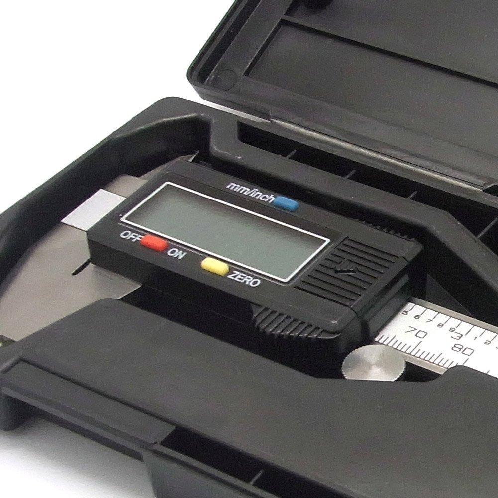 Sienoc Digitaler Me/ßschieber Pr/äzisions Schieblehre 150mm Aufl/ösung 0,01mm LCD Anzeige