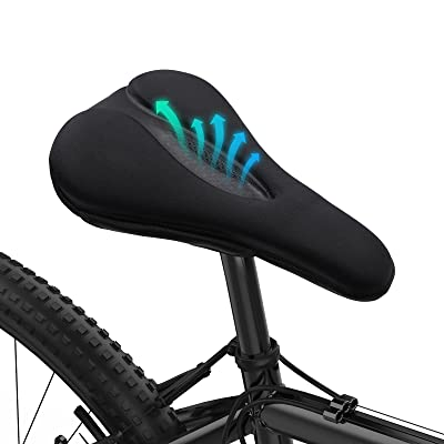 MTB Cycling Road VELO Mountain Bicycle Cushion Seat Saddle Pad Anti-skid Soft
