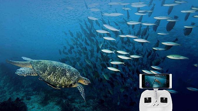 Drone Submarino Fifish P3 Con Cámara 4K UHD de 20 Megapixels y 100 ...
