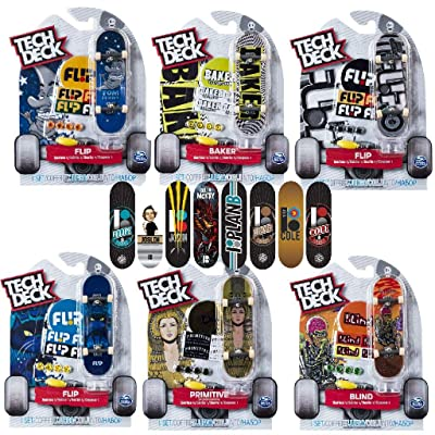 TECH DECK 6028846 Tech Deck-6028846-Finger Skate Pack X1: Toys & Games