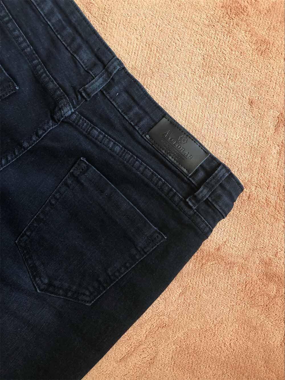 Bott Mena UK- Donna AA Forte Vento La Coltivazione Lavato abrasivi Pantaloni Jeans di Marca di Modo Indipendente Grande Campana qualit/à Auto