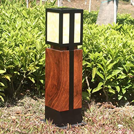 ZQH Moderno Aluminio Jardín Luz de grama, Al Aire Libre LED Paisaje Luces Al Aire Libre Impermeable Parques Hierba Decoración Patio de Luces Casa Luces de Columna,66 * 20CM: Amazon.es: Hogar