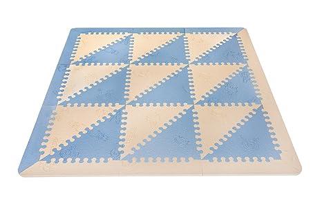 51f6571e890 LuBabymats - Alfombra puzzle infantil para bebés de Foam (EVA ...