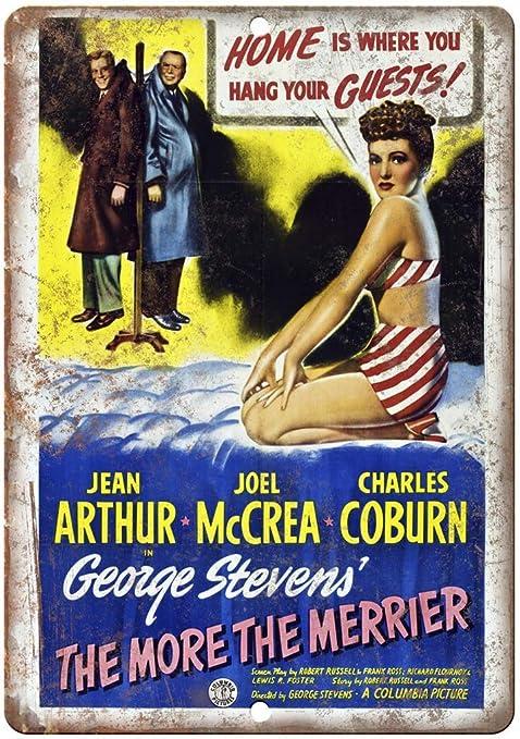 Shunry The Merrier George Stevens Poster Placa Cartel ...
