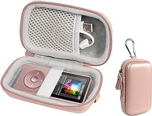 Case for Wireless Earbuds Charger Box Like Sony WF1000X/BM1, SOL Republic Amps and MP3 Player Like Soulcker, AGPTEK A01T, U1, B03, C3, Rocker V2, Iyzer 16GB, Grtdhx 16GB, Wrcibo 8GB, Mahdi, Dansrue