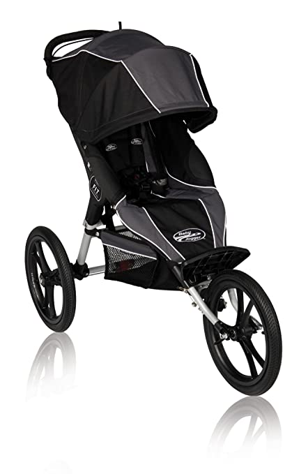 Baby Jogger cochecito Fit 3 ruedas Charcoal/Negro