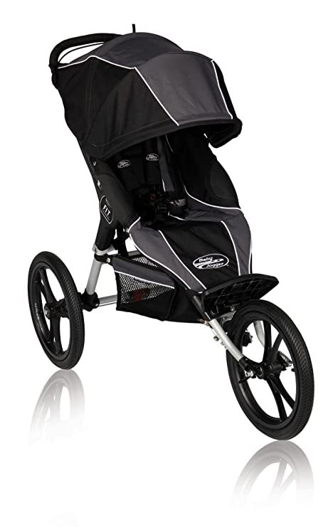Baby Jogger F I T Single Jogging Stroller Slate Black Amazon Co
