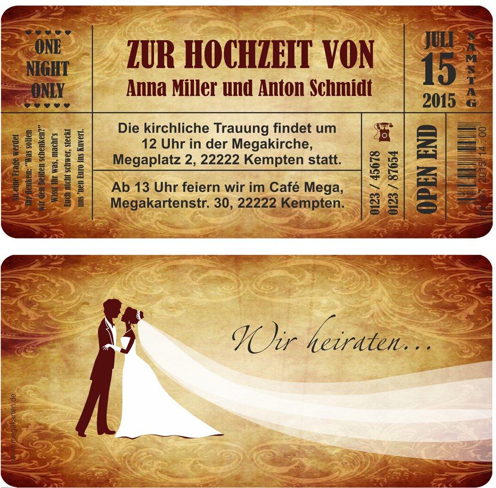 Einladungskarten zur Hochzeit. 100 Stück B00WQ30MYS B00WQ30MYS B00WQ30MYS   Mode-Muster  d38acb