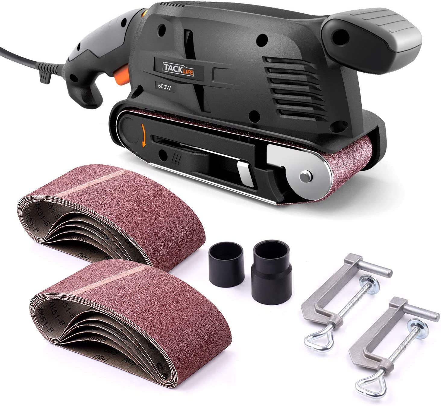 TACKLIFE PSFS1A Bench Sander Variable-speed Control