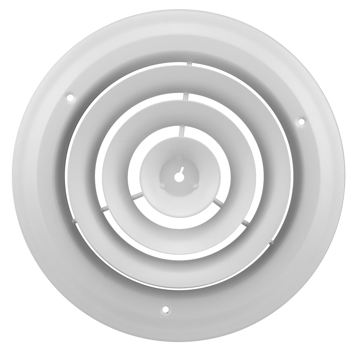 Accord ABCDWH08 Round Ceiling Diffuser, 8-Inch, White