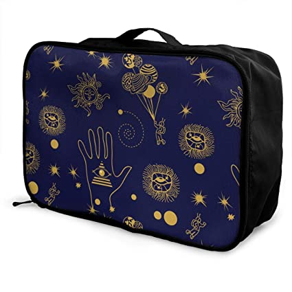 Qurbet Bolsas de Viaje, Fantasy Space Travel Pattern ...