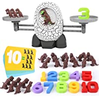 Nueplay Kids Dinosaur Toys for Age 3 4 5 6 7+ Year Old Boys Girls Gifts Balance Number STEM Educational Preschool…